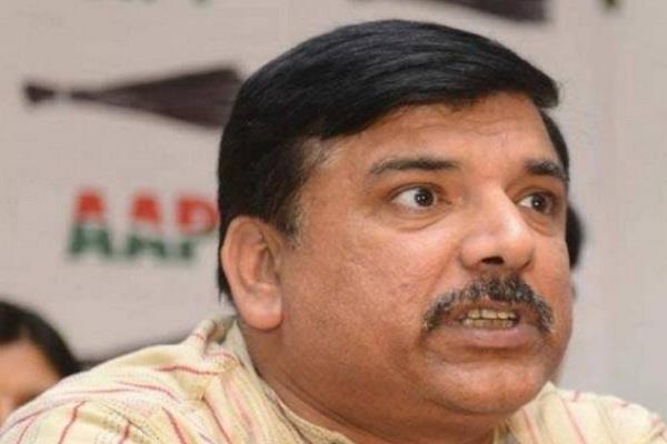 aam aadmi party  sanjay singh  bjp  arvind kejriwal
