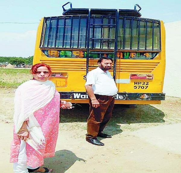 school bus driver challan