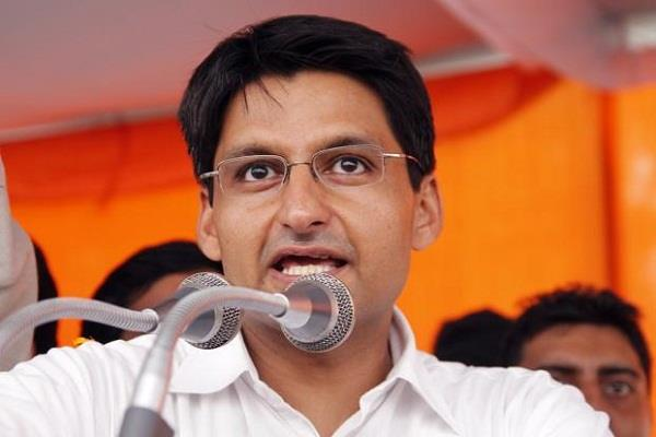 deepender s promise pti will be restored in congress government