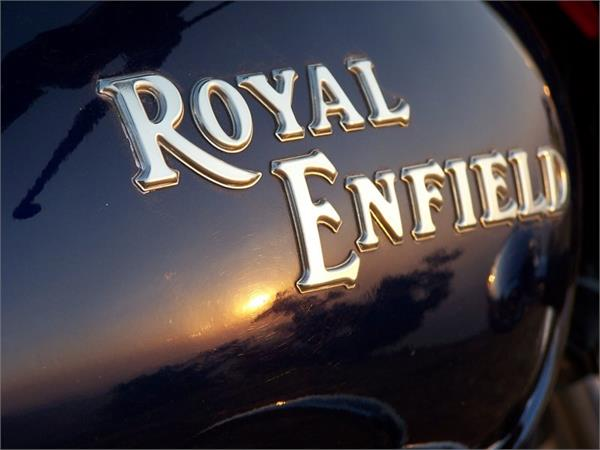 record sales of royal enfield