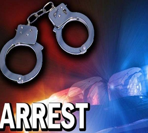 arrested with weapons