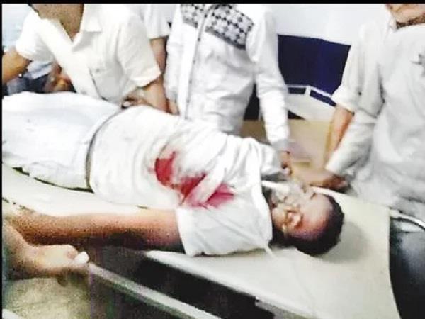 sp members shot dead ravindra singh