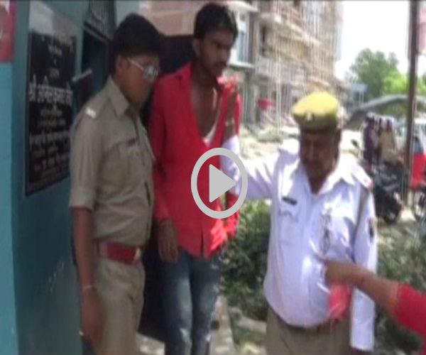 people cheated manchle  fiercely beaten  handed over to police