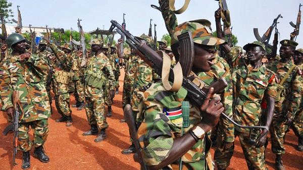 south sudan allows soldiers to rape women as part of their salary