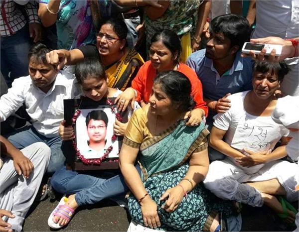 mathura murder case victim family ends hunger strike