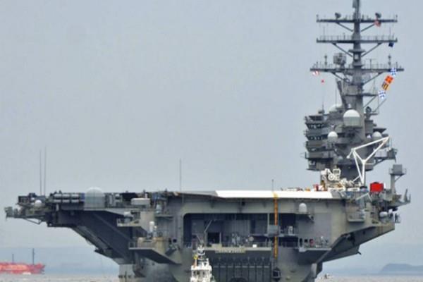 us sends its second aircraft carrier near north korea
