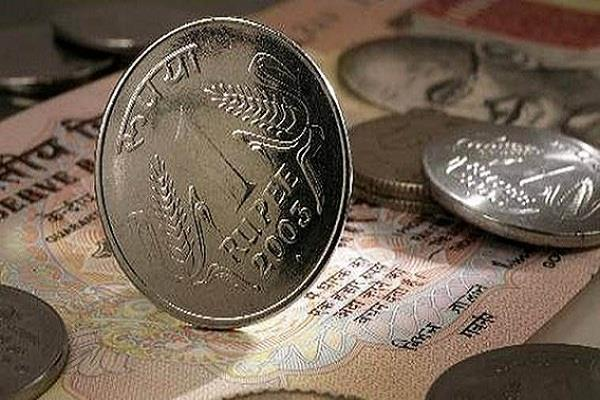 rupee drops 69 paise to 64 84