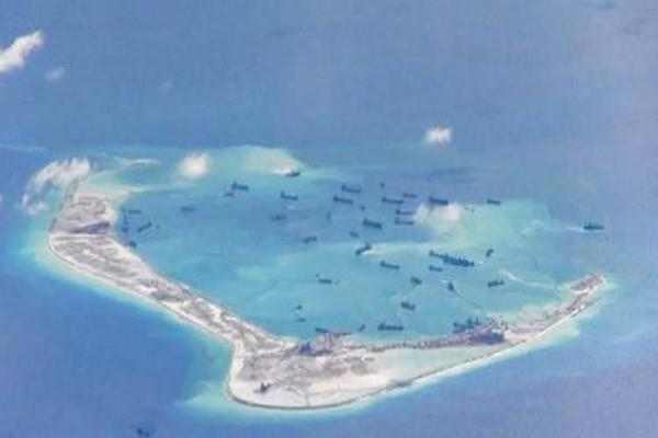 china installs rocket launchers on disputed south china sea island report