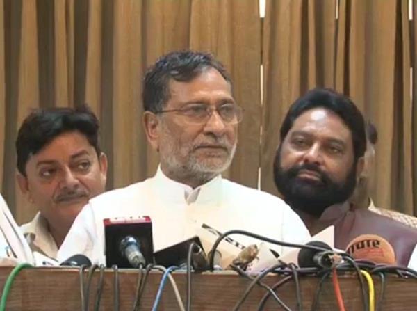sp leader ram govind chowdhury disputed statement on hindu religion