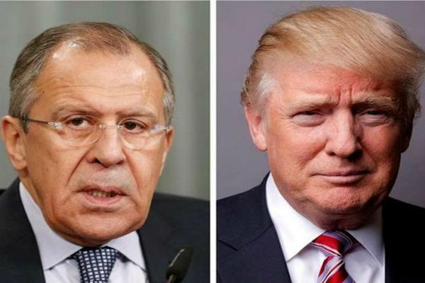 trump to meet russian foreign minister lavrov