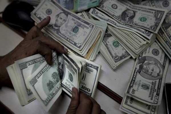 forex reserves down usd 44 36 mn to usd 375 27 bn