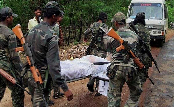 chhattisgarh encounter between security forces and maoists in dantewada