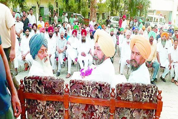 aap and akali dal are plotting to spoil the atmosphere of punjab harry mann