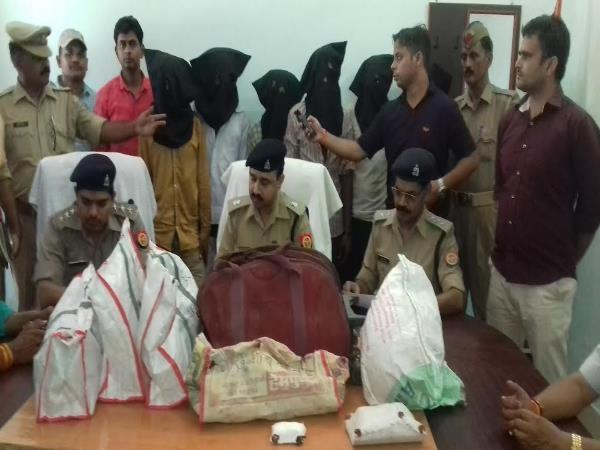 gang rape 6 gangsters arrested for robbery