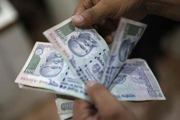 rupee recovers 1 paise to 64 42 with slight margin