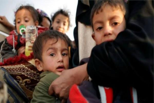 un says is targets children to hold mosul civilians hostage