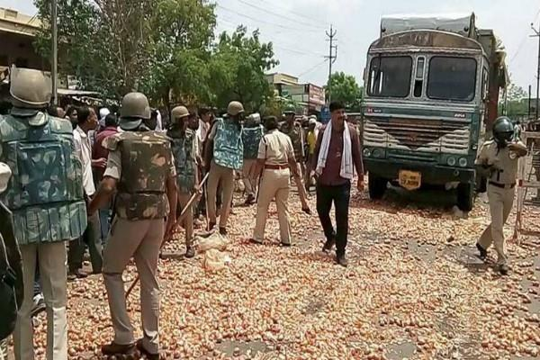 congress again called for protest against the death of farmers in mandsaur