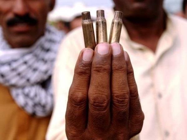 celebratory firing in pakistan  32 injures