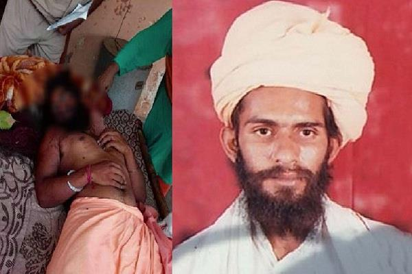 another baba murdered in babolpur land dispute