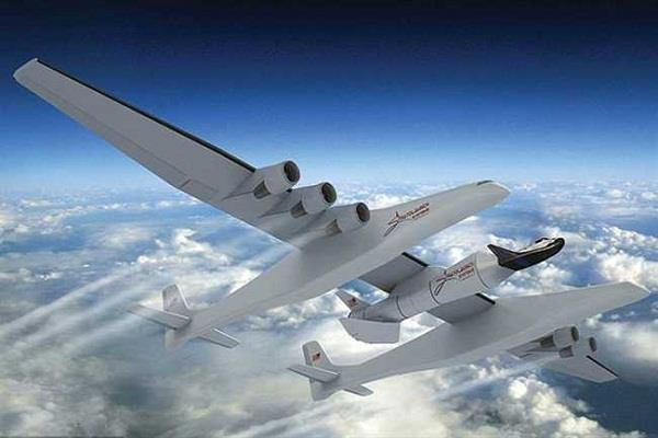 this is the world  s largest plane  can be built on the wings of the playground