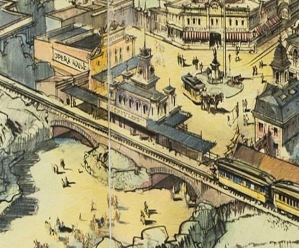 disneylands original map worth four and half million in auction