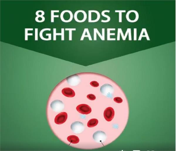 the 8 foods that help fight anemia