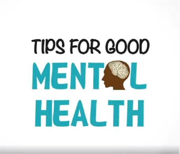 take these tips for good mental health