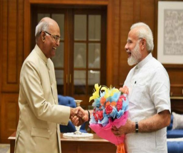 9 pm giving upa  s decision to become ramnath kovind  s first president