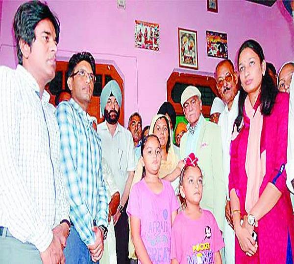 martyr  s family is now the family of the punjab government