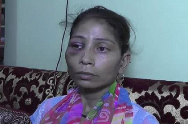 husband made husband for dowry makes wife hostage third degree