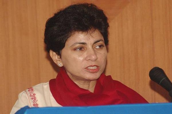 kumari selja selected as state president haryana congress