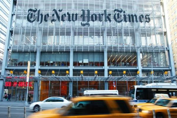 new york times sues fbi to get notes of comey trump talks
