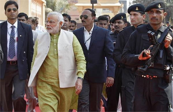 modi lucknow arrested 24 suspected of disrupting the tour