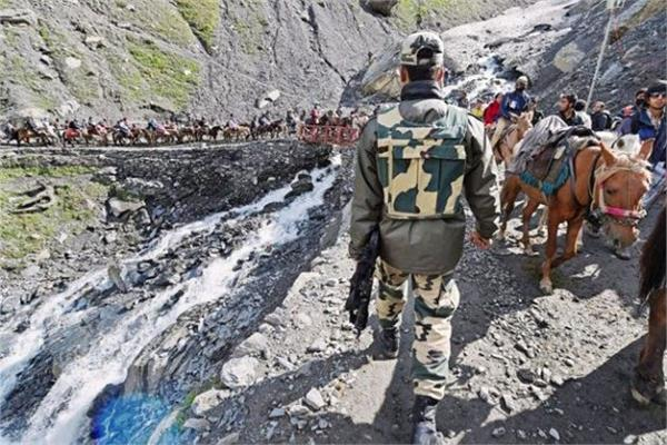 tight security in amarnath yatra