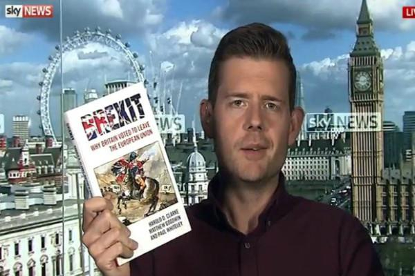 author matthew goodwin chew book live tv after wrong uk poll prediction