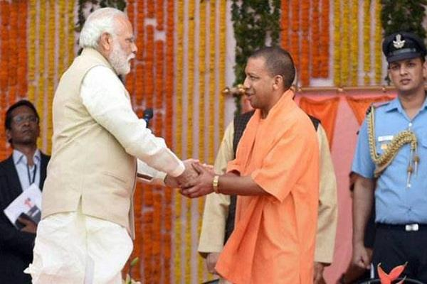 yogi government is shedding sweeter in preparation for modi s lucknow tour