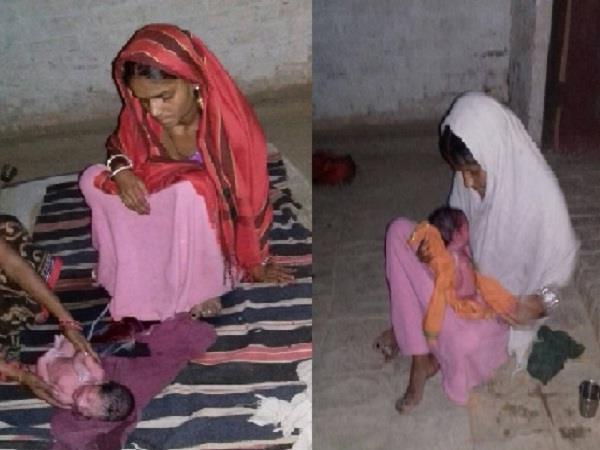 failed 108 ambulances woman gave birth to a child on road