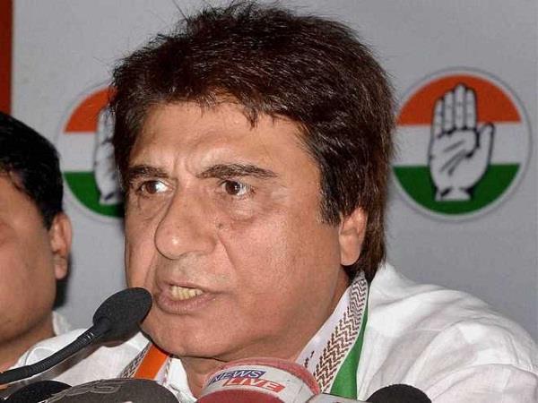 yogi government did fraud with farmers raj babbar