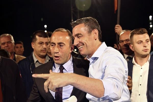 preliminary result  kosovo leaders of anti serb war win