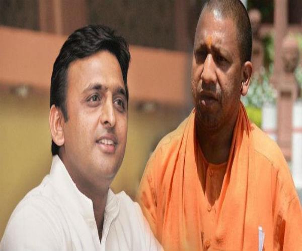 modi and yogi on make development of every village of the country  akhilesh
