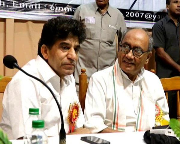 congress will not pull the rump in presidential election  digvijay