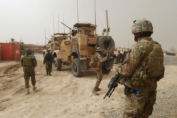 afghan soldier shot dead on american soldiers  3 injured