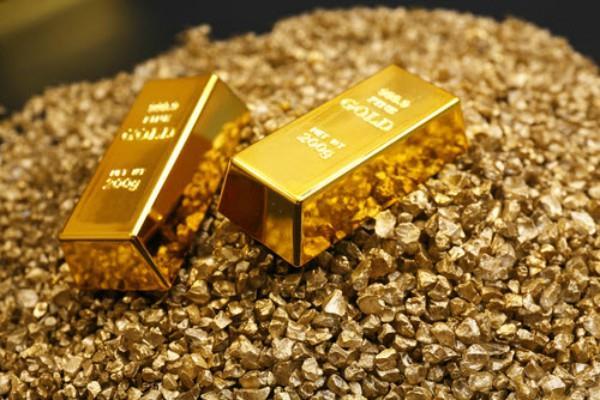 pressure in crude  gold