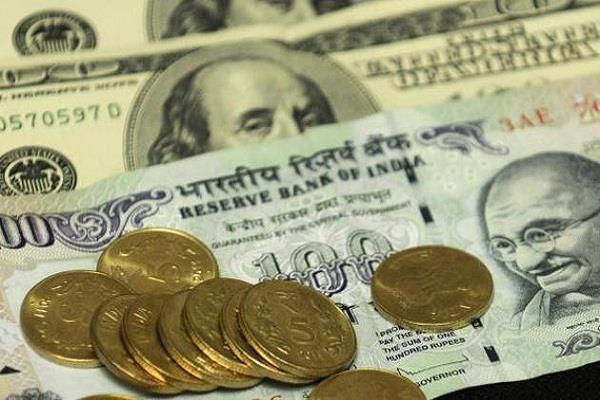 rupee down 8 paise to open at 64 42