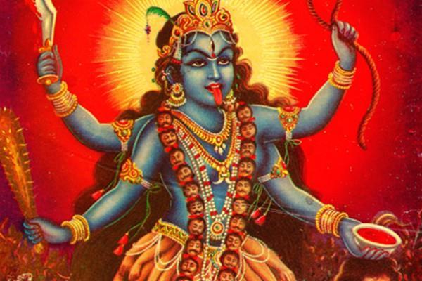 religious story of mata shardamani