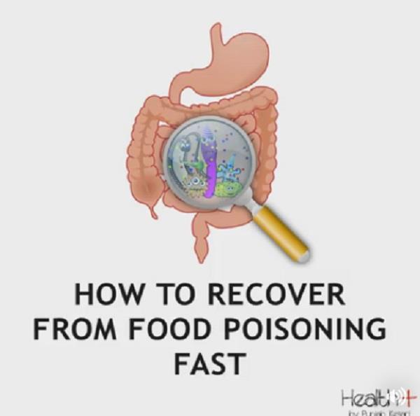 how to recover from food poisoning fast
