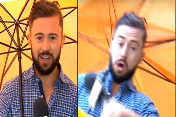 reporter live reporting ireland anchor misshaping