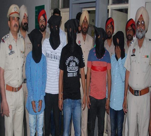 5 robber arrested