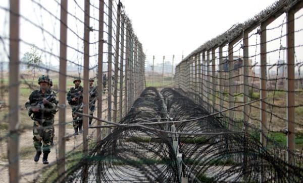 intruder control over indo pak border