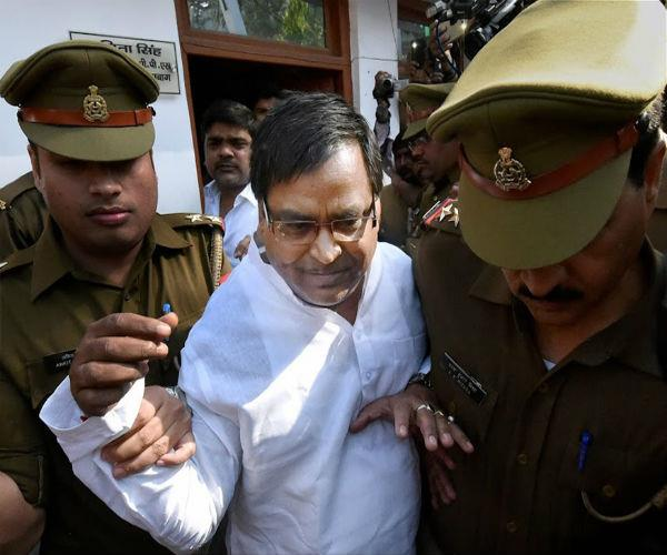 gayatri prajapati  s problems increased  lokayukta probe started